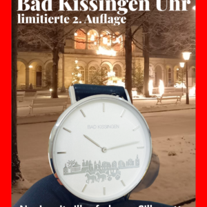 Bad Kissingen Uhr, limitierte Neuauflage