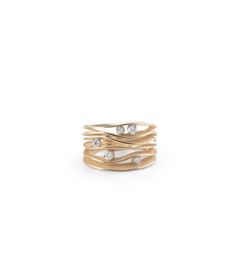 Ring Dune Apricot Gold